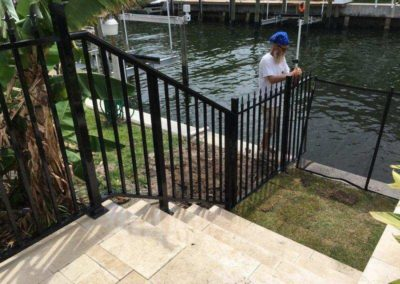 outdoor railing totalscape design